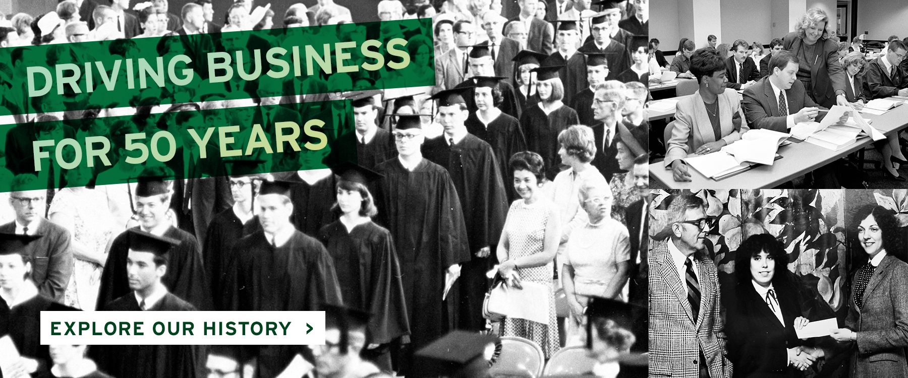 Driving Business for 50 Years